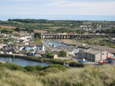 1646 Hayle Estuary from the electric works