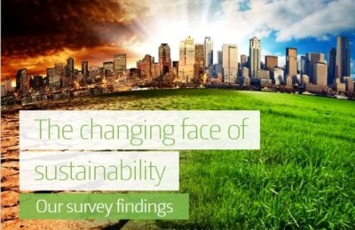 The Changing Face of Sustainability Our Survey Findings1