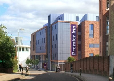 Greengage Environmental services and planning London Whitbread
