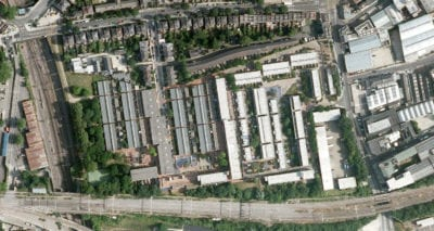 Greengage Environmental services and planning London Maiden Lane Estate aerial view