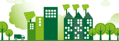 buildings and renewable banner